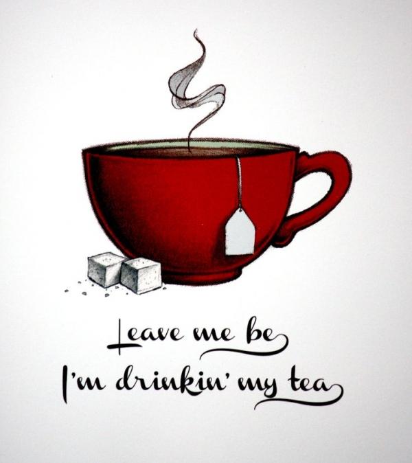 thee voor maag en darmen