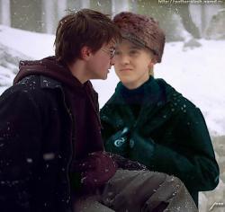 Harry and Draco (SLASH!)