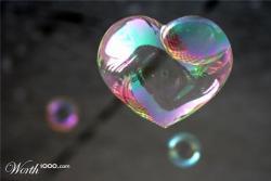Foto bij Bubble of love