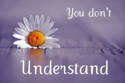 You don't Understand |•| Jasper Hale