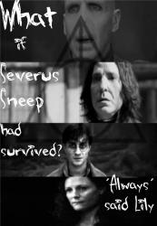 What if Severus Snape had survived?
