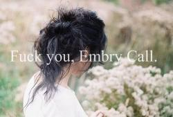 Fuck you, Embry Call. || Wolfpack [Afgelopen]