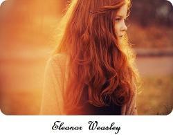 Eleanor Weasley [Ended}