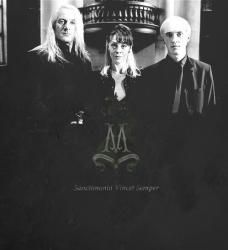 The Lord's mission {Draco Malfoy & Lucius Malfoy} [16+]