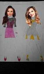Foto bij H6 design Little Mix Jesy and Jade