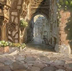 Foto bij 063 - Entering the City
